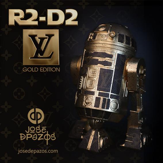 R2-D2 EDICION ESPECIAL LOUIS VUITTON