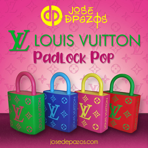 PADLOCK POP VUITTON